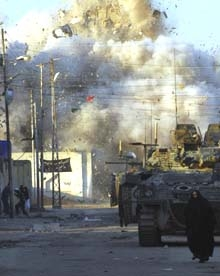 IRAQ BRITISH RAID