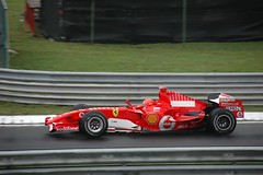 Michael Schumacher (WrldVoyagr) Tags: geotagged hungary budapest ferrari racing grandprix formula1 schumacher hungaroring michaelschumacher magyarország geo:lat=4757785 geo:lon=19250096