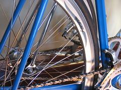 technical (unaesthetic) Tags: atlanta bike frames italian spokes wheels chrome record bici pedals colnago gears campy corsa 96 dropouts campagnolo crecord bicyce