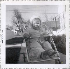 BW035 (Jeffry B) Tags: baby me moi oldfamilyphotos