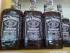 3 Litre bottles of Jack Daniels - by Pierre Nel