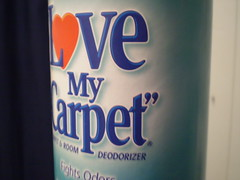 Love My Carpet...now available in French Vanilla Mocha!