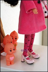 Lost and...FOUND! (rockymountainroz) Tags: pink doll polkadots pullip maryjanes kewpies squeakymonkey