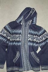 Blue alpacka