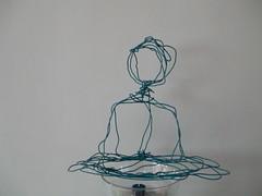 Arnhem  Centre's electric cable Buddha 2