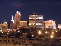 Skyline: Lansing, Michigan, USA by Mario.Q