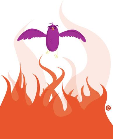 illustration friday - phoenix