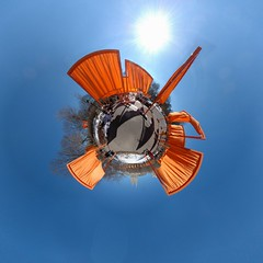 Planet New York :: Central Park - The Gates (Sam Rohn - 360 Photography) Tags: newyorkcity panorama newyork circle geotagged photography photo interesting nikon exterior stitch nikond70 centralpark manhattan 360 panoramic photograph sphere planet antoinedesaintexupry escher filmmaking stitched filmproduction 360x180 lepetitprince spherical invisiblecities christo scouting 360 littleprince thegates escheresque mcescher 360x180 filmlocation locationscouting hyperbolic stereographic planetoid locationscout flexify 105mmf28gfisheye filmlocations littleplanet polarpanorama filmscouting nylocations samrohn realvizstitcher littleplanets stereographicprojection smallplanets locationscouts thelitttleprince geo:lat=40774605 geo:lon=73972586 filmscout