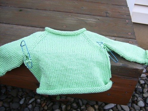baby sweater #2