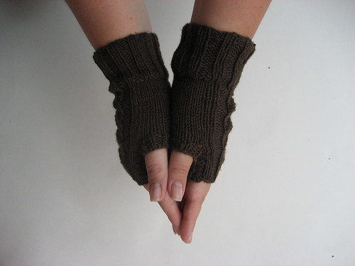 Canapone Fingerless Gloves