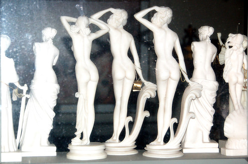 Bare Marble Backs