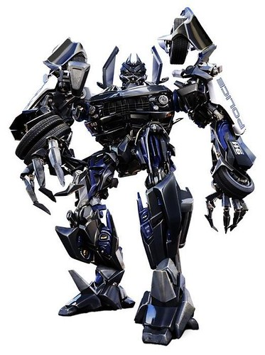 Barricade CGI Transformers la pelicula