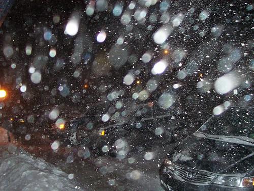 Snow in Saskatoon