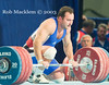 PETROV Alexy RUS 94kg (Rob Macklem) Tags: petrov alexy rus 94kg santo domingo olympic weightlifting strength 2006 world championships