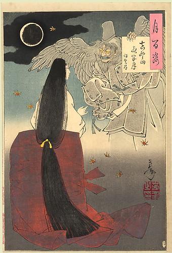 Yoshitoshi_Mount_Yoshino_Midnight_Moon