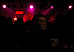 the escape artist (nardell) Tags: woman lowlight crowd livemusic band stranger spotlight newyearseve delaware bethanybeach photostory escapeartist almostmidnight likemine 123106 itwasnewyears greatmusicfuncrowd butshecaughtmyattention becuzherthoughts seemedveryfaraway
