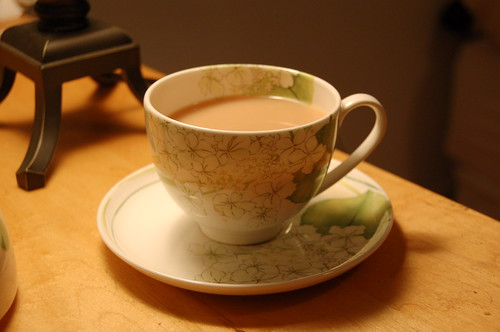 January 11, 2007- Just one last picture of tea cups, I swear.