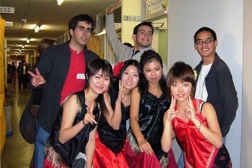 En el club de Flamenco '2005