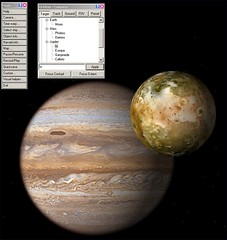 Orbiter Simulator - Jupiter with Io