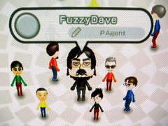 FuzzyDave on my Wii plaza