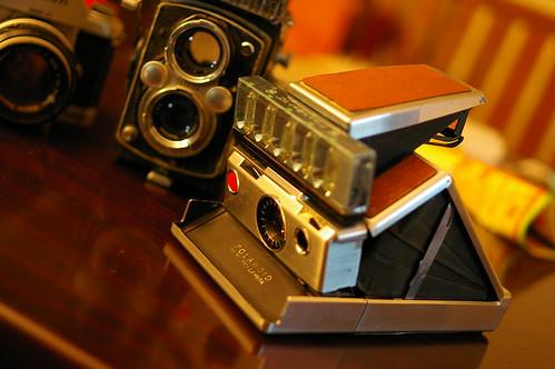 三台舊相機,兩台問題請教