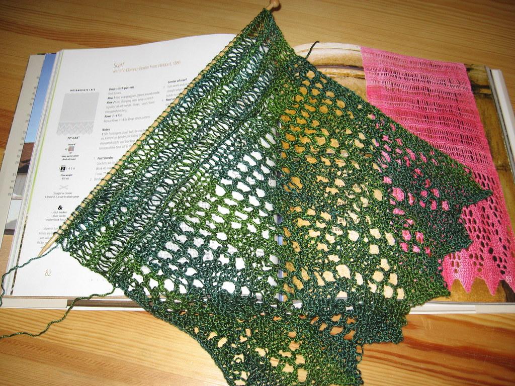 Scarf with Sea Silk