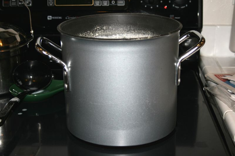 Pot of Soymilk for tofu 2