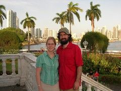Panama City from Balboa Circle