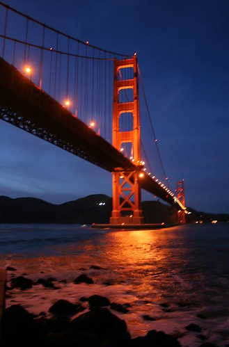 The Golden Gate at Night