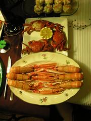 Nochevieja (Daquella manera) Tags: madrid stilllife crab foro newyearseve seafood nochevieja marisco bodegon cangrejos cangrejo naturalezamuerta cigalas cigala madriz elforo madrij losmadriles crabas