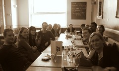 Hen Lunch Long Table (Magnific) Tags: bbc northpole henlunch