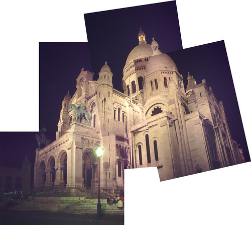 Panograph of Sacre Coeur on Flickr