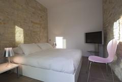 Chambre 11 suite avec lit double et grand écran plasma