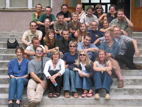 Class of 2003 at Ashoka's School for Young Social Entrepreneurs in Poland.