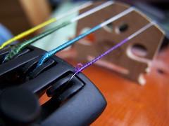 (kathleen.bradley) Tags: blue macro green yellow purple violin instrument strings unedited stringed finetuners cwdweek2 cwd21 gdae