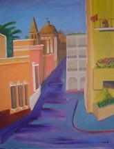 Avenida Hidalgo by Lilibeth Andre