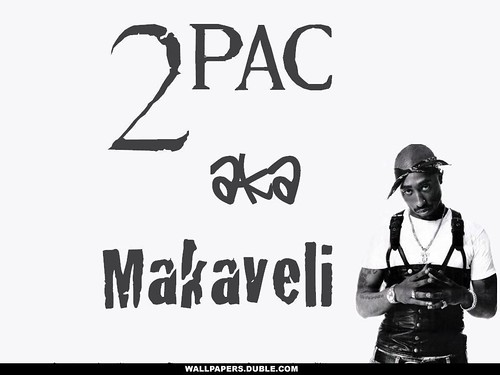 2 Pac aka Makaveli Wallpaper