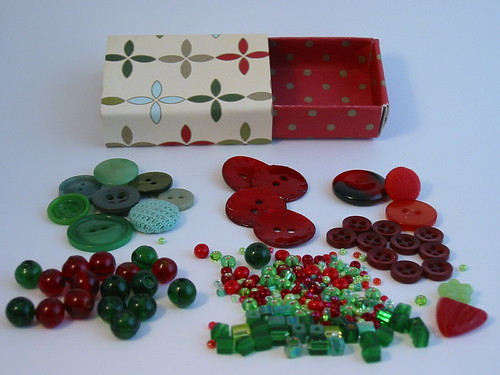 beads and buttons matchbox fill
