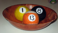 needle felted billiard project 3.0