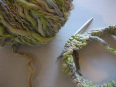 in progress #2 (neftos) Tags: tricot knitting knit yarn inprogress needles tric l mycreations agulhas crazyforknitting emprogresso