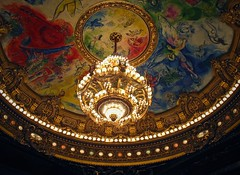 Paint the sky (bekahpaige) Tags: paris france art europe ceiling chandelier chagall operahouse operagarnier palaisgarnier extravagant grandsalle