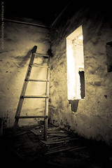 They used to live here !! (Khalid AlHaqqan) Tags: old light window island room ladder kuwait khalid ikarus failaka kuwson alhaqqan