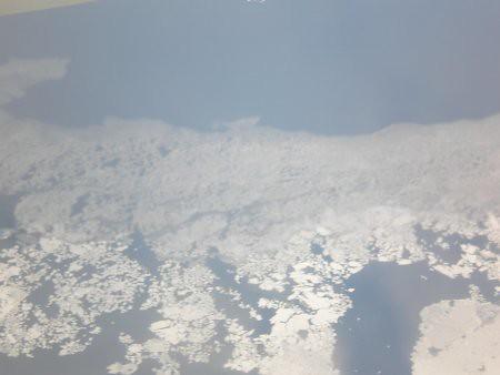 Mar congelado desde el aire... 2