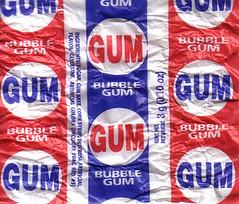 bubble gum wrapper (AdamVandenberg) Tags: gum bubblegum wrapper