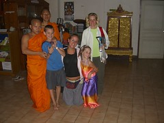 The Gang with Gabe and another Monk