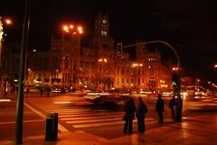 Plaza de Cibeles (Steveen) Tags: madrid cibeles plazadecibeles