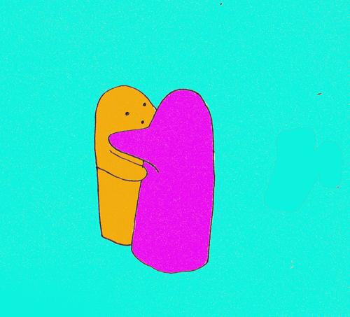 Blob hug
