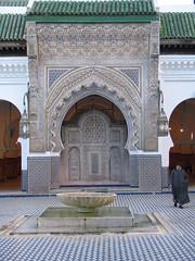 Qarawiyin Mosque, Fez (josiehen) Tags: courtyard mosque morocco fez masjid qarawiyin