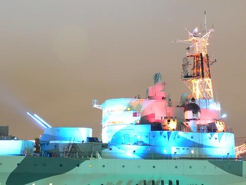 Overexposed HMS Belfast