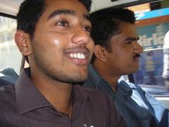 Sudarshan, Dinesh on the way to Banjara (aanjhan) Tags: rbin